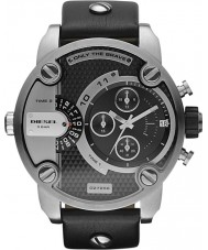 Diesel DZ7256 Mens Little Daddy Black Chronograph Watch