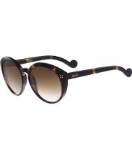 Liu Jo Ladies LJ635S Melanie Stud Tortoiseshell Sunglasses
