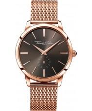 Thomas Sabo WA0177-265-206-42mm Mens Rebel Spirit Rose Gold Plated Bracelet Watch