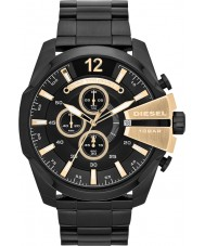 Diesel DZ4338 Mens Mega Chief Black Chronograph Watch