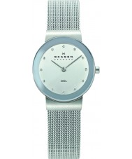 Skagen 358SSSD Ladies Klassik Chrome Silver Mesh Watch