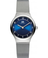 Danish Design V69Q1072 Ladies Silver Steel Mesh Bracelet Watch