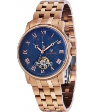 Thomas Earnshaw ES-8042-33 Mens Westminster Rose Gold Plated Bracelet Watch