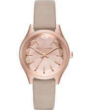 Karl Lagerfeld KL1619 Ladies Belleville Tan Leather Strap Watch