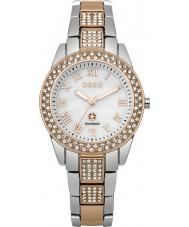 Oasis B1538 Ladies Two Tone Steel Bracelet Watch