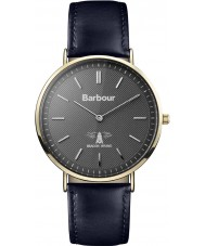 Barbour BB055GDBL Hartley Blue Leather Strap Watch