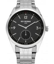 Ben Sherman WB052BSM Mens Carnaby Driver Silver Steel Bracelet Watch