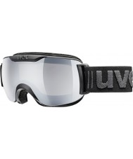 Uvex 5504382026 Downhill 2000 Small LM All Black Ski Goggles