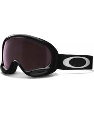Oakley 59-746 A-Frame 2.0 Jet Black - Prizm Black Iridium Ski Goggles