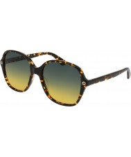 Gucci Ladies GG0092S 003 Sunglasses