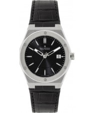 Dreyfuss and Co DGS00086-20 Mens 1890 Black Leather Strap Watch