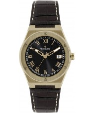 Dreyfuss and Co DGS00090-10 Mens 1890 Brown Leather Strap Watch