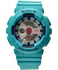 Casio BA-110SN-3AER Ladies Baby-G World Time Green Chronograph Watch