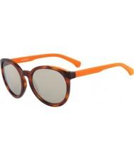 Calvin Klein Jeans CKJ762S Amber Tortoiseshell Sunglasses