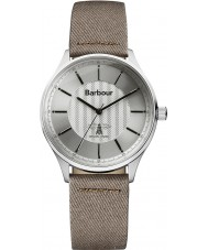 Barbour BB021SLCH Mens Glysdale Fuse Honey Brown Fabric Strap Watch