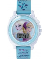 Frozen FZN3677 Girls Anna and Elsa Singing Watch with Blue Plastic Strap