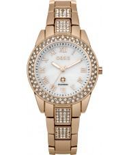 Oasis B1539 Ladies Rose Gold Steel Bracelet Watch