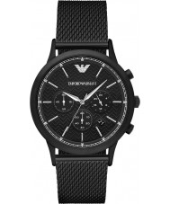 Emporio Armani AR2498 Mens Classic Black Steel Mesh Watch