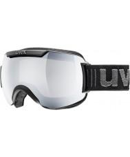 Uvex 5501090326 Downhill 2000 Black - Silver Mirror Ski Goggles