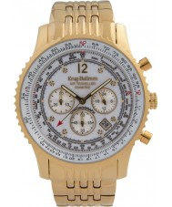 Krug-Baumen 600101DS Mens Air Traveller Diamond Watch