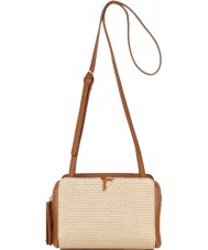 Fiorelli FH8637-TANRAFFIA Ladies Sadie Tan Raffia Crossbody Bag