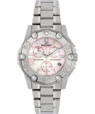 Rotary ALB90033-C-07 Ladies Aquaspeed Steel Chronograph Sports Watch