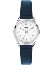 Henry London HL25-S-0027 Ladies Knightsbridge Blue Leather Strap Watch