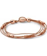 Fossil JA5799791 Ladies Fashion Multi Rose Gold Strand Wrist Wrap