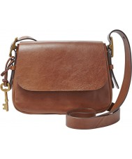 Fossil ZB6759200 Ladies Harper Brown Small Cross Body Bag