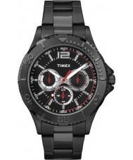 Timex TW2P87700 Mens Taft Street Black Steel Bracelet Watch