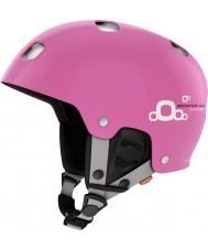 POC PC102811708XSS1 Receptor BUG Adjustable 2.0 Shiny Actinium Pink Ski Helmet - 51-54cm