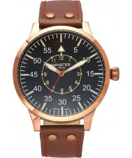Minster 1949 MN02BKCU10 Mens Bradnor Brown Leather Strap Watch