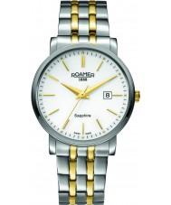 Roamer 709856-47-25-70 Mens Classic Line Two Tone Steel Bracelet Watch