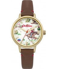 Cath Kidston CKL006TG Ladies Cowboy Tan Leather Strap Watch