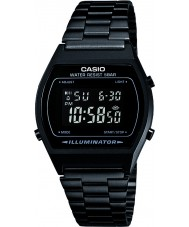 Casio B640WB-1BEF Mens Collection Black Steel Bracelet Watch