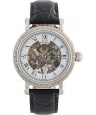 Krug-Baumen 60112DM Mens Prestige Black Leather Strap Watch
