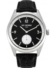 Ben Sherman WB052WB Mens Carnaby Driver Black Leather Strap Watch