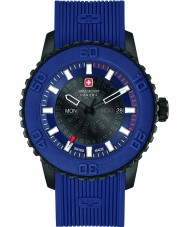 Swiss Military 6-4281-27-003 Mens Twilight Blue Nylon Strap Watch