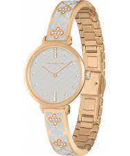 Halcyon Days HD4000 Ladies Agama Sparkle Two Tone Brass Bracelet Watch