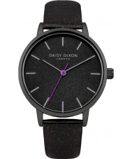 Daisy Dixon DD032BB Ladies Naomi Black PU Strap Watch