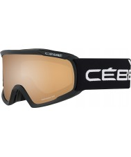 Cebe CBG94 Fanatic L Black - Orange Flash Mirror Ski Goggles