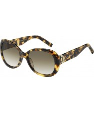 Marc Jacobs Ladies MARC 111-S O2V CC Glittery Havana Sunglasses