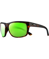 Revo RE1023 Remus Matte Tortoiseshell - Green Water Polarized Sunglasses