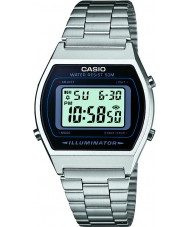 Casio B640WD-1AVEF Mens Collection Silver Steel Bracelet Watch