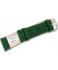 Krug-Baumen CP49GreenG Military Green Leather Replacement Mens Principle Strap