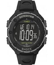 Timex T49950 Mens Black Expedition Shock XL Vibrating Alarm Watch