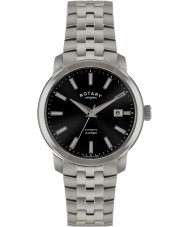 Rotary GB02810-04 Mens Timepieces Black Silver Automatic Watch