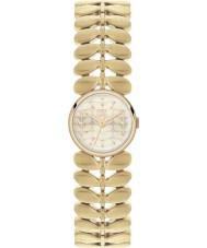 Orla Kiely OK4022 Ladies Laurel Hamilton Gold Plated Watch