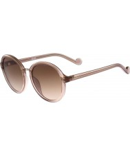 Liu Jo Ladies LJ640S Melanie Glam Espresso Beige Sunglasses