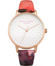 Daisy Dixon DD008PRG Ladies Suki Rose Gloss Leather Strap Watch